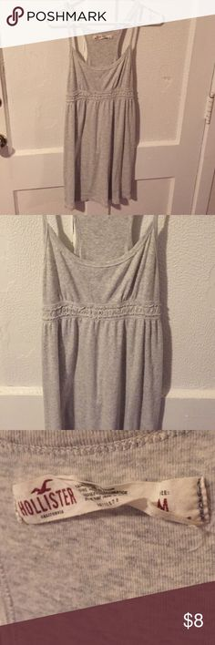 Hollister Gray Sleeveless Dress size Small Great condition Hollister gray sleeveless dress size small. no defects. If you're worried about fit, feel free to ask for measurements but please don't leave me neutral / negative feedback because the item doesn't fit! =) Hollister Dresses Mini