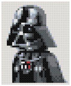 Darth Vader Star Wars pattern by PDFcrossstitch