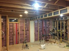 How to Finish Your Basement and Basement Remodeling Finishing your basement can almost double the square foot living space of your home. A finished basement can include new living space such as a r… Man Cave Basement, Basement Plans, Basement Bedrooms, Basement Flooring, Basement Bathroom, Basement Ideas, Basement Designs, Dark Basement, Flooring Ideas