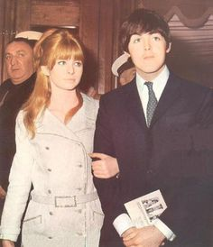 From 1964 to 1968 Paul had a tumultuous relationship with Jane Asher, an accomplished actress of stage and screen.  In the end, Jane would not give up her career to become a Beatle wife.  They parted amicably, and to this day she remains tight-lipped about their relationship.