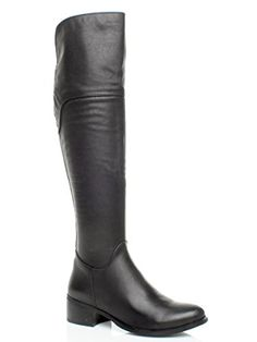 9d603747802f WOMENS LADIES WINTER MID HEEL ZIP RIDING LONG KNEE BOOTS SIZE 3 36