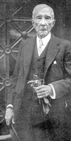 John D. Rockefeller, Sr., Founder of Standard Oil