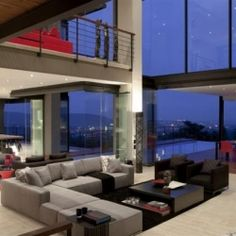 The design team at Nico van der Meulen Architects have completed this stunning bachelor pad in South Africa.