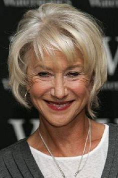 pretty black ladies in their 60's | Hairstyles for Women Over Age 50: Helen Mirren (No. 3)