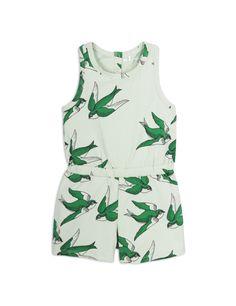 f14f64c5ef6 Mini Rodini summersuit Swallow Green  minirodini  ss18  kidswear   kidsfashion  kidsgotstyle