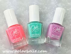Polarbelle: JulieG Nail Polish Spring Trio Special For Jesse's Girl Cosmetics PLUS a Giveaway!