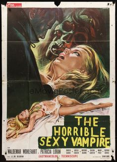 HORRIBLE SEXY VAMPIRE 1971 - Sold for 28 USD