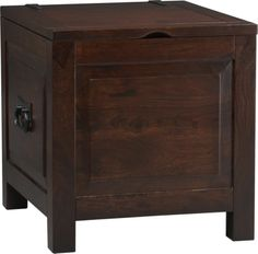 Hunter II Side Trunk in Accent Tables   Crate and Barrel - Living Room