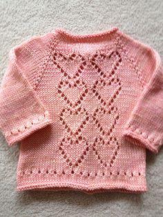 Ravelry: yarnloverleslie's Pink Hearts