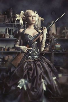 Steampunk Tendencies | Anna Morozova Photography #Fashion