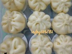 Chinese Seafood Recipe, Seafood Recipes, Bread Recipes, Cake Recipes, Resep Cake, Bao Buns, Indonesian Cuisine, Steamed Buns, Yummy Food