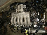 JDM Engine Corp Engine Details - JDM 20B 3 Rotor Twin Turbo Eunos Cosmo Engine Wiring ECU.... my future engine