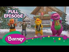 Barney - The Magic Caboose (Full Episode) - YouTube