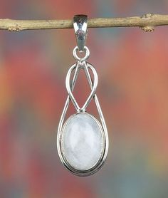 Moonstone Jewellery – Moonstone Pendant, Moonstone Silver Jewelry – a unique product by Midas-Jewelry on DaWanda