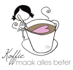 Koffie maak alles beter … More Witty Quotes Humor, Wisdom Quotes, Qoutes, Old Best Friends, Goeie Nag, Tea Quotes, Goeie More, True Words, Birthday Wishes