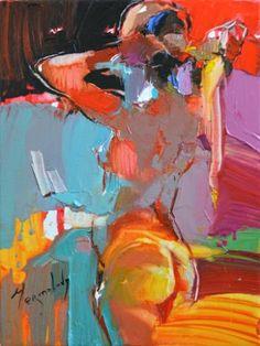 """Saatchi Art Artist Iryna Yermolova; Painting, """"Ponytail II"""" #art"""