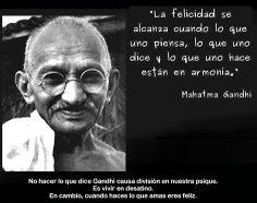Frases de Gandhi en fotos