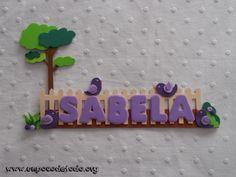 www.unpocodetodo.org - Cartel de pajaritos para Sabela  - Carteles - Goma eva