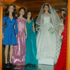 FM Kate / Catherine Duchess of Cambridge dolls - picture by Catherine Ford-Barbiero