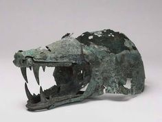 Wolf's Head Helmet, Etruscan 6th-5th century BCE https://www.facebook.com/museum.of.artifacts/