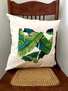 Ohio Pillow - Colorful Fern Print State of Ohio Pillow Cover by LindasOtherLife on Etsy
