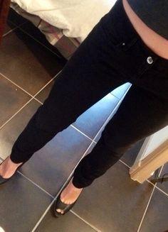 A vendre sur #vintedfrance ! http://www.vinted.fr/mode-femmes/jeans/19464262-jean-salsa-noir-taille-31