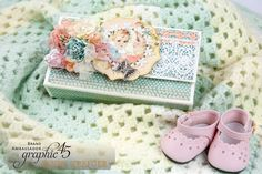 Hello, G45ers!Today we have a lovely little surprise for you-Sandy Trefger's Little Darlings - Deluxe Collector's Edition Mini Album video tutorial. We love the cover embellishments and the zig zag pages! This album would be perfect for a boy or a girl and is simple enough to make that you might c