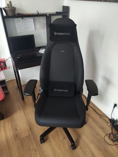 Noblechairs Icon Black Edition Black Edition, Gaming Chair, Design
