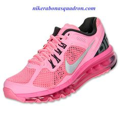 Nike Air Max 2013 Womens Polarized Pink Reflect Silver Anthracite 555363 601