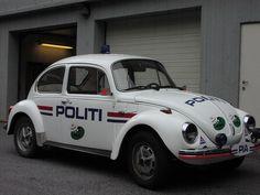 Norwegian Old VW Beetle Police car