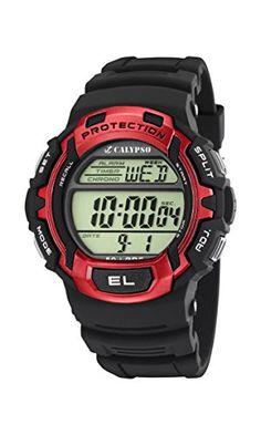 Calypso Watches - Digital at Chrono Watch Company Watch Companies, Casio Watch, Watches, Black, Haus, Wristwatches, Clock