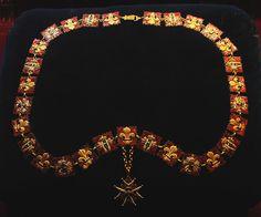 Collier de l'ordre du Saint-Esprit - Ordre du Saint-Esprit — Wikipédia