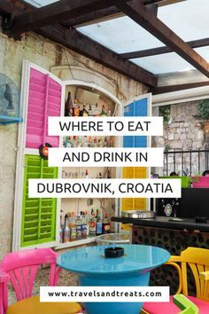 The best restaurants in Dubrovnik, Croatia. Where to eat and drink in Dubrovnik.