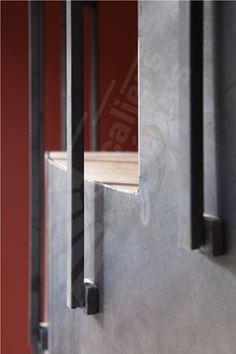 Photo dt106 esca 39 droit 1 4 tournant interm diaire escalier int rieur - Deco escalier en bois ...