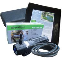 Pond Kits EasyFit 2000 Pond Kit - Triple Action 4x4 liner Featuring the new triple Action All-in-One pond pump - a pump filter and UVC in one handy submersible unit. Save over £40 compared to purchasing components individually. This set has the products you  http://www.MightGet.com/february-2017-2/pond-kits-easyfit-2000-pond-kit--triple-action-4x4-liner.asp