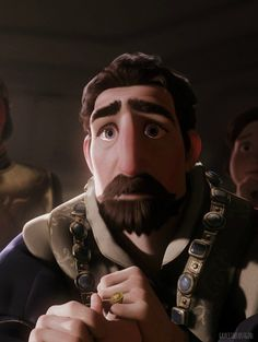 So... the reason I love the parents in Tangled so much is summed up in this picture. They never have a single line of dialogue, but the animation on their facial expressions is PERFECTION.