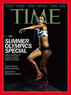 Summer Olympics Special (Europe, Middle East and Africa)- Time Magazine Cover July 2012 Gabby Douglas, Douglas Michael, Lolo Jones, Time Magazine, Magazine Covers, Long Jump, High Jump, Michael Phelps, Olympic Gymnastics
