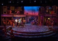 In The Heights. San Diego Repertory Theatre. Scenic design by Sean Fanning.