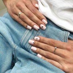 Stylish Nails, Trendy Nails, Classy Nails, Subtle Nail Art, Blush Pink Nails, Milky Nails, Nagellack Design, Fall Acrylic Nails, Fall Nail Art