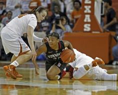 Amber Orrange saves the day vs Texas, scoring five points int he final 60 seconds, after Chiney Ogwumike (18 points) fouled out
