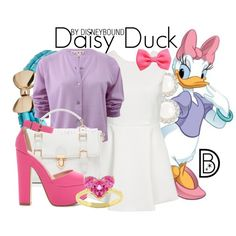 That Daisy is one classy lady!  You will be too in this outfit she inspires. | fashion | outfits | disneyland outfits | disney world outfits | disney fashion outfits | disneybound | disneybound outfits | disney outfits | disney outfit ideas |