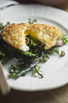 Fried Poached Egg