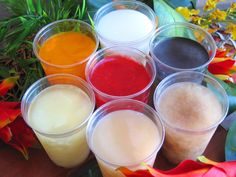 Recetas de Limbers de P.R {de coco, uva,  mantecado, frambuesa, piña colada, tamarindo, parcha... }