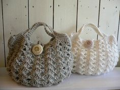 crochet purse by Ladybumblebee