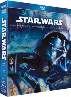 Estiu 2016 -- Star Wars: Trilogia Ep IV-VI (2011) [Blu-ray]