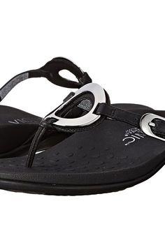 ec0e3067bc5d VIONIC Rest Karina (Black) Women s Sandals - VIONIC