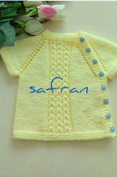 Min barnebors veste model Array # # # # Væv - Lilly is Love Knitting Stiches, Easy Knitting Patterns, Knitting Designs, Baby Patterns, Free Knitting, Baby Knitting, Knit Baby Sweaters, Knitted Baby Clothes, Knit Baby Dress