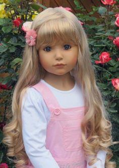 """Masterpiece Doll Emily Blonde 46"""" by Monika Peter-Leicht"""