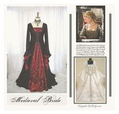 """Medieval Bride"" by viryabo ❤ liked on Polyvore featuring Trilogy and bridal"