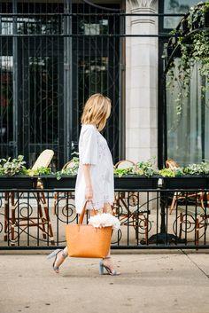 maternity style white dress summer
